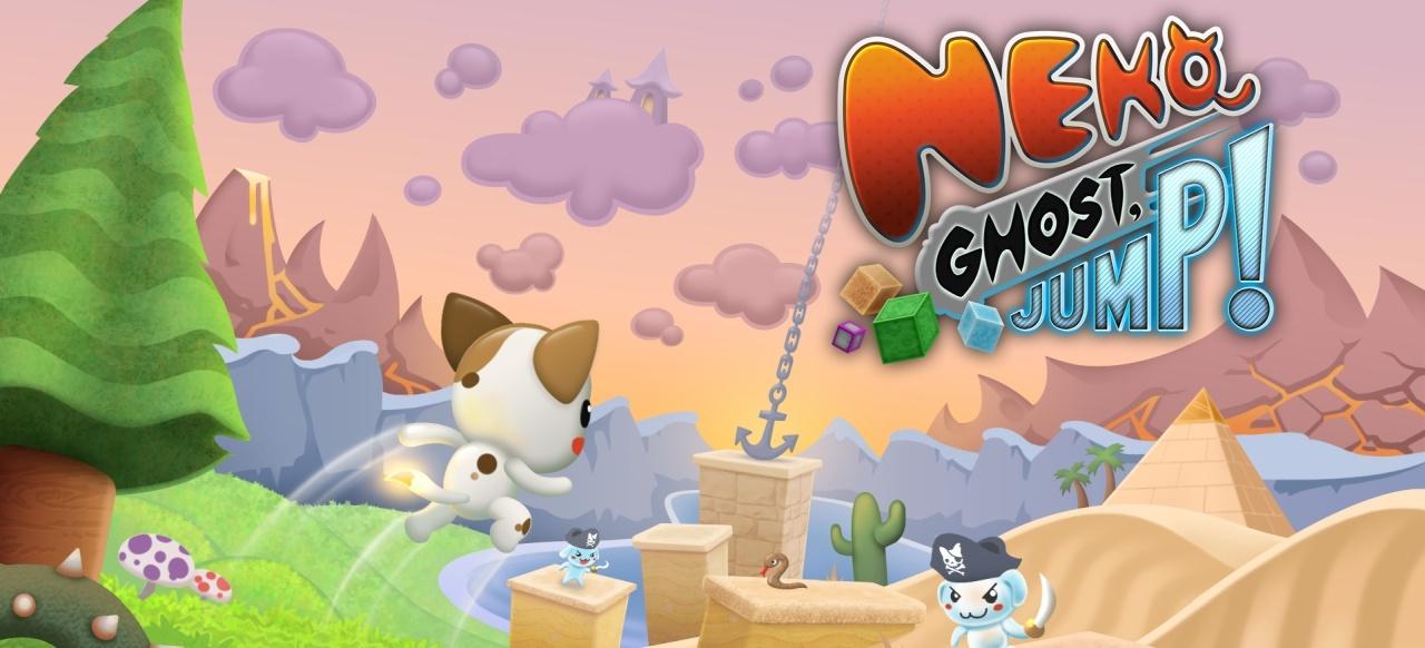 Neko Ghost, Jump! (Plattformer) von Burgos Games