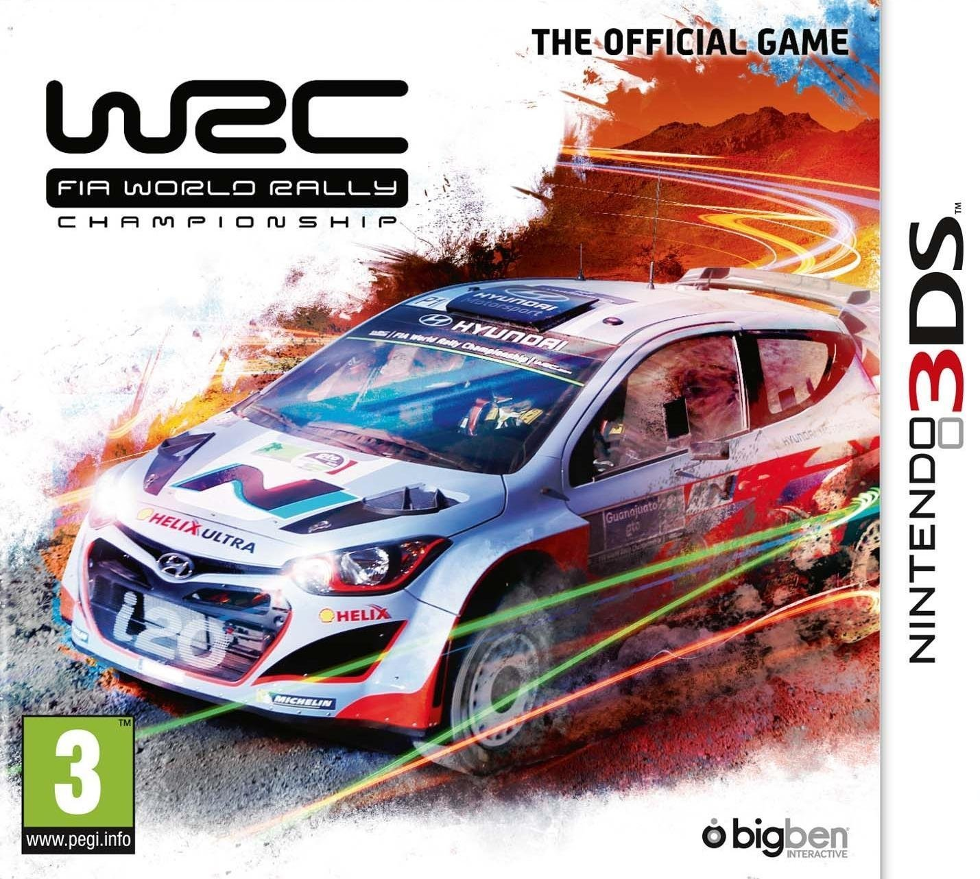 Alle Infos zu WRC FIA World Rally Championship The Official Game (3DS)