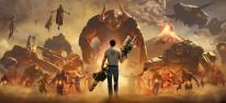 Serious Sam 4: Spielszenen-Trailer von der Devolver Direct 2020