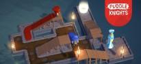 Puddle Knights: Mittelalterliches Puzzlespiel mit schmutzempfindlichen Adligen für PC veröffentlicht