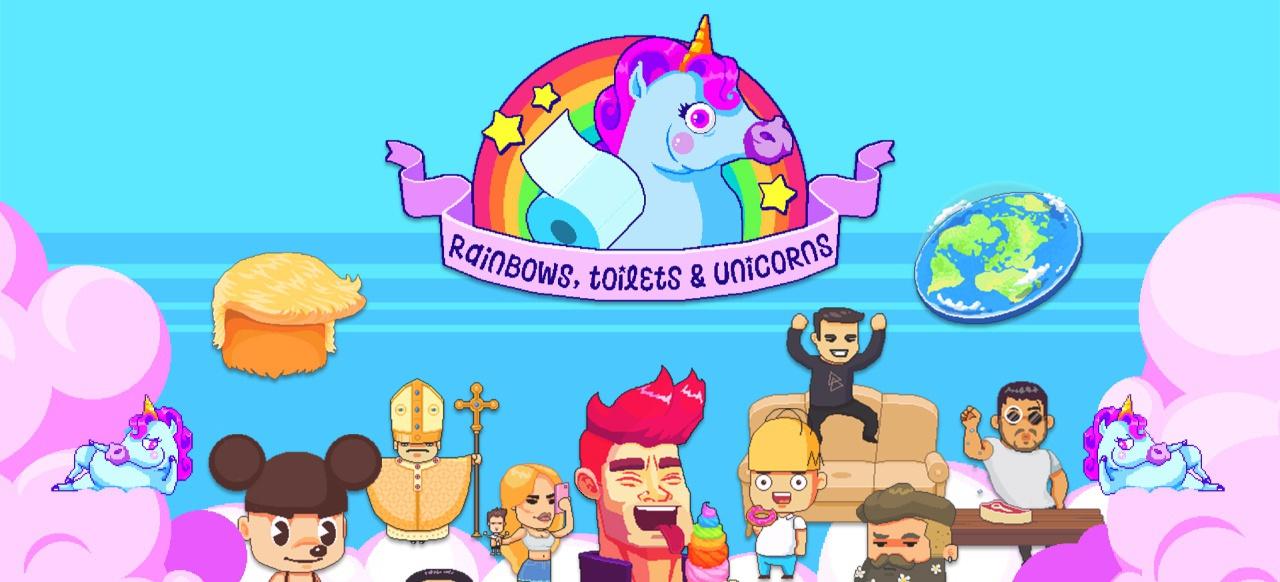 Rainbows, toilets & unicorns! (Arcade-Action) von Fantastico Studio