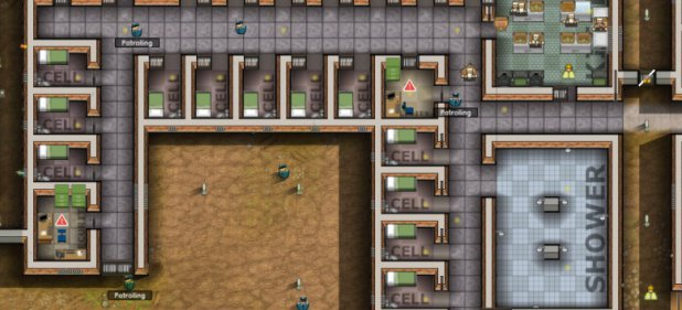 Prison Architect (Taktik & Strategie) von Introversion Software / Astragon / Double Eleven