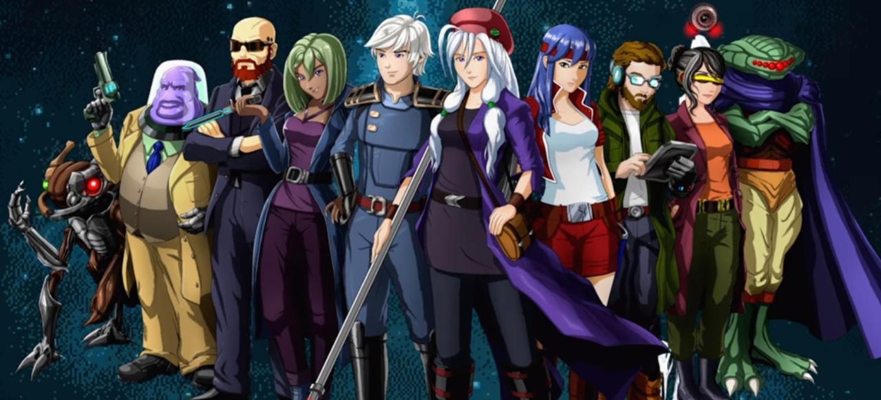 Cosmic Star Heroine (Rollenspiel) von Zeboyd Games