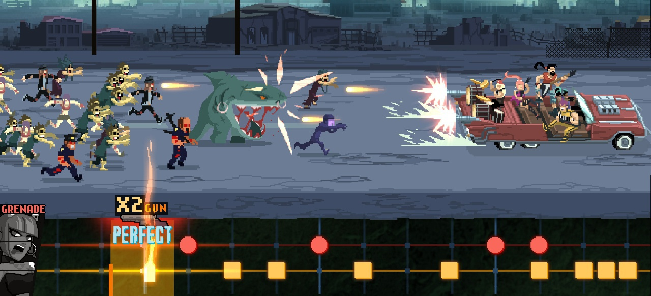 Double Kick Heroes (Musik & Party) von Headbang Club / WhisperGames / Kakehashi / Plug in Digital / Hound Picked Games / Red Art Games
