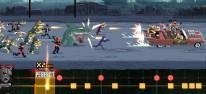 Double Kick Heroes: Mischung aus Zombie-Metzel-Shoot'em-Up und Rhythmusspiel