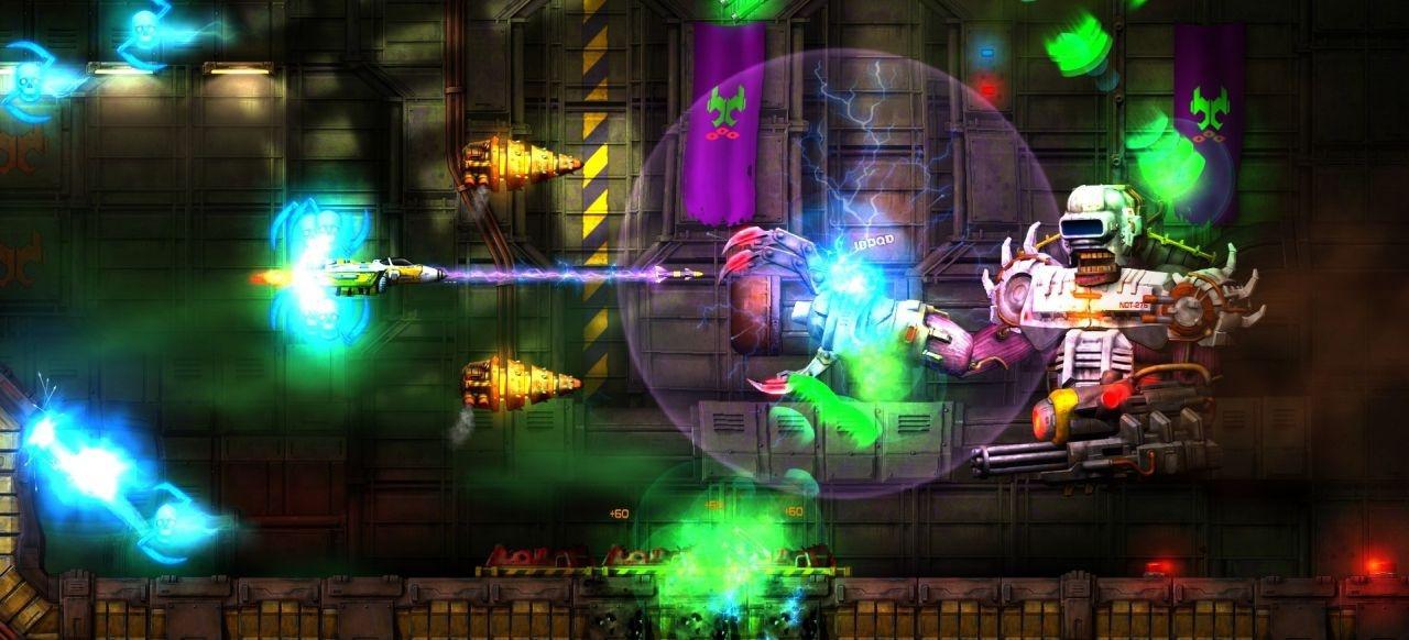 Jets'n'Guns 2 (Arcade-Action) von Rake in Grass
