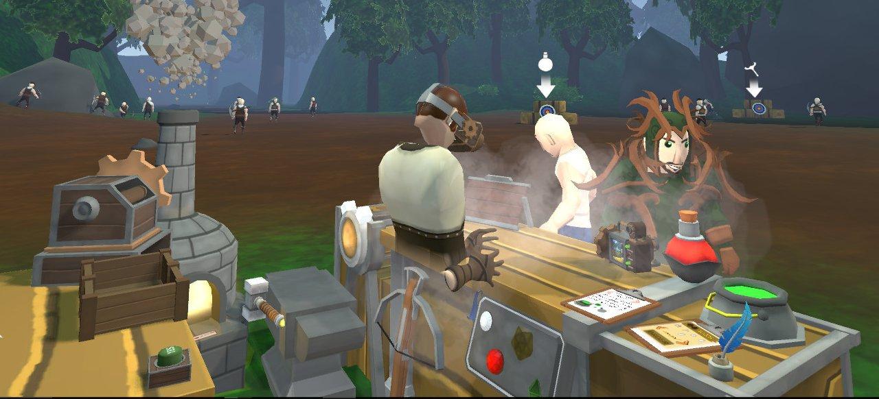Craft Keep VR (Simulation) von Excalibur Games