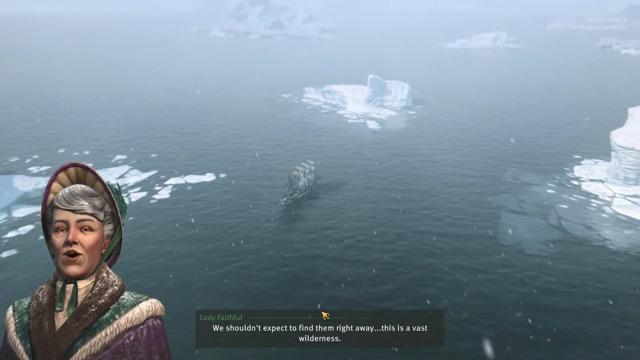 Die ersten Schritte in der Arktis