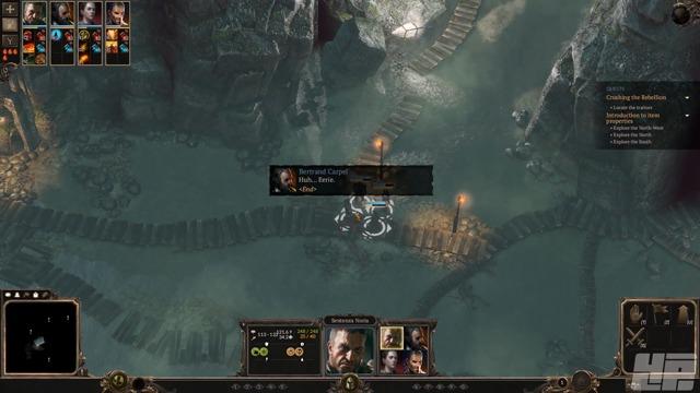 Beta-Spielszenen: Unterwegs im Dungeon