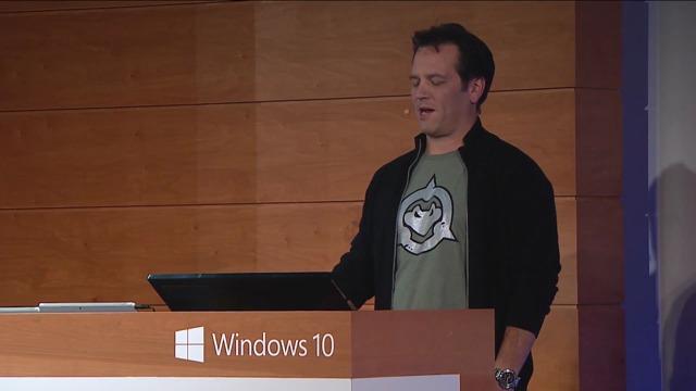 Windows-10-Briefing: Xbox Präsentation