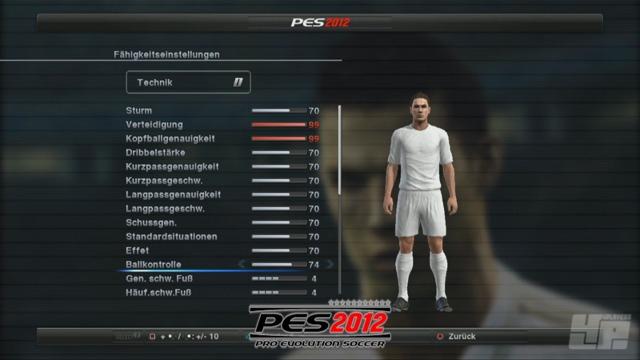 FIFA/PES-Vergleich: Editor