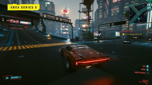 Night City Wire Special: Xbox One X and Xbox Series X footage