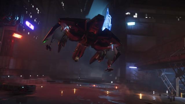Alpha 3.4: Anvil Aerospace - Hawk