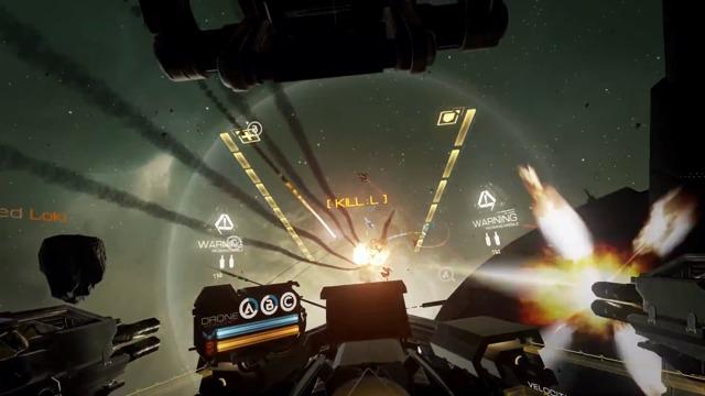 Carrier Assault-Spielszenen