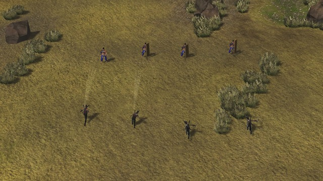 Ninjas, Monks & Cavalry