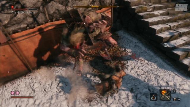 Bosskampf: Angeketteter Oger