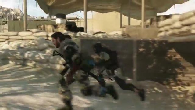 Metal Gear Online - Spielszenen mit Entwickler-Kommentar