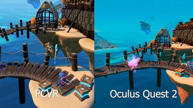 Grafikvergleich: Quest 2 vs. PC