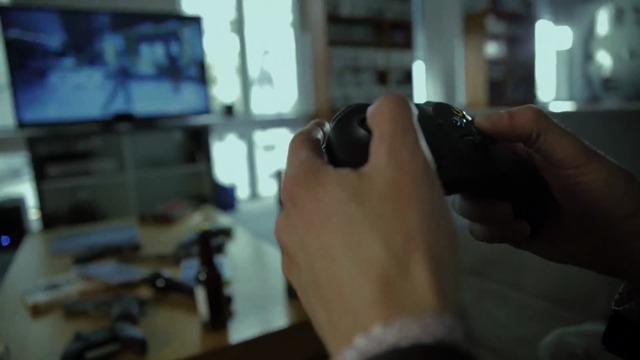 Max Payne und Alan Wake zocken Quantum Break