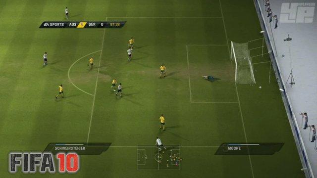 FIFA 10 vs WM - Torschüsse
