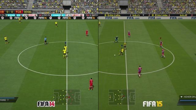 FIFA 14/15: Grafikvergleich (PS4)
