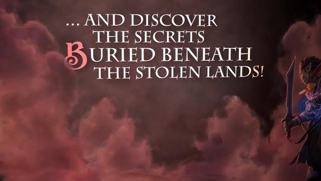Beneath the Stolen Lands DLC Trailer
