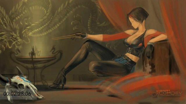Tamiko Speed Drawing-Trailer