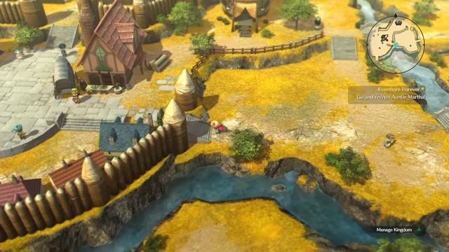 Spielszenen: Kingdom Modus