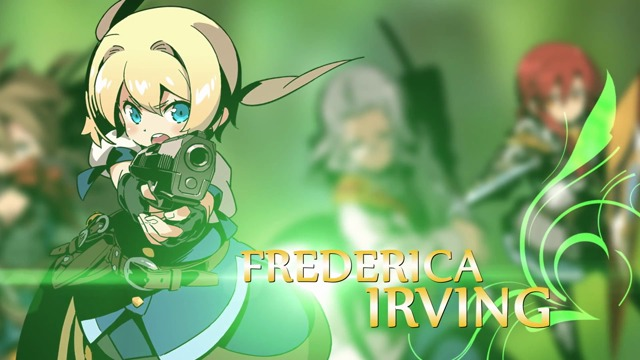 Frederica Irving