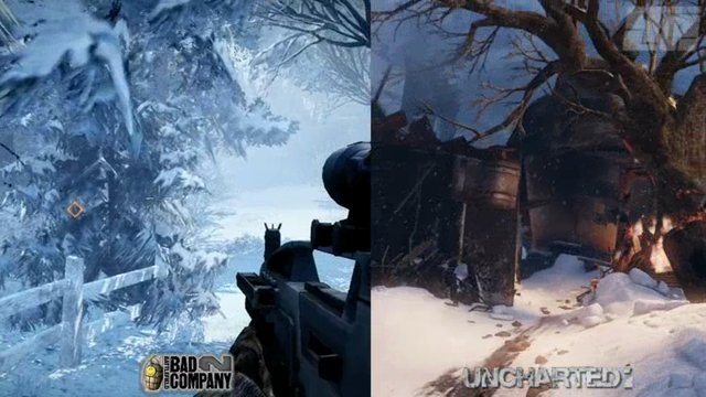 Vergleich Uncharted 2/MW2