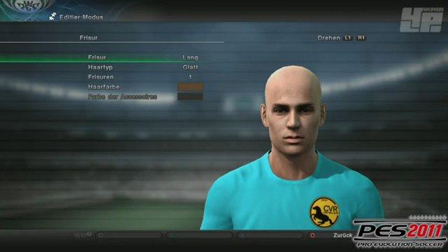 FIFA-PES-Vergleich - Editor