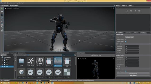 Autodesk Stingray Game-Engine
