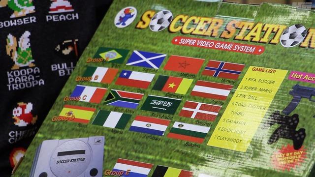 Fundstück des Monats Juli: Soccer Station