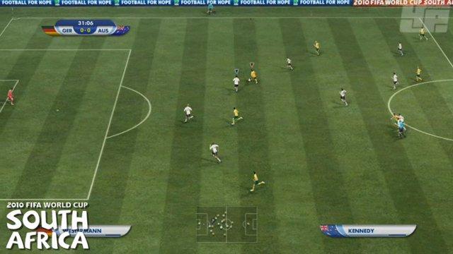 FIFA 10 vs WM - Passspiel
