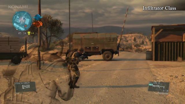 Metal Gear Online Spielszenen