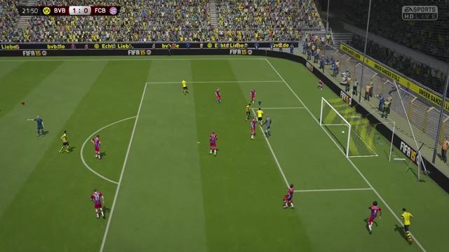 Spiel: Dortmund vs. Bayern