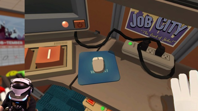 Exklusive VR-Spielszenen