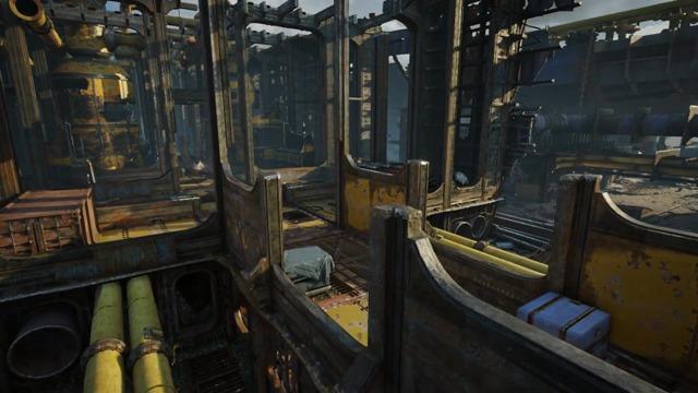 Drydock Multiplayer Map Flythrough