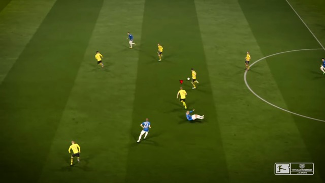 Virtuelle Bundesliga-Spot