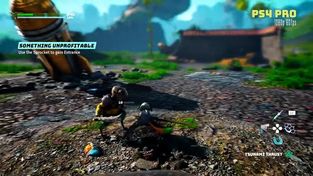 Footage (PlayStation 4 Pro & Xbox One X)