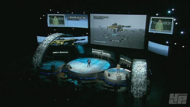 Kinect-Spielszenen