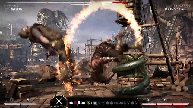 Kombat Klass: Scorpion