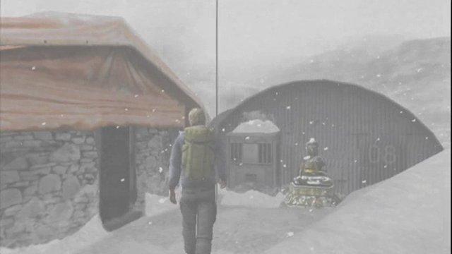 In den Schnee