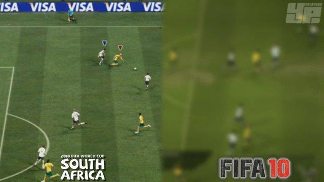 FIFA 10 vs WM - Ballgefühl