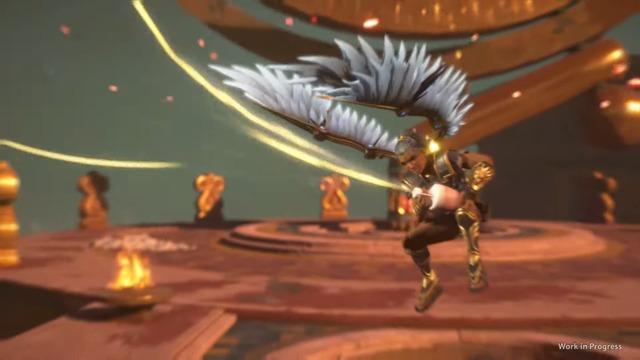 Preview: Zwischensequenz mit Hermes