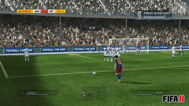 FIFA-PES-Vergleich - Standards