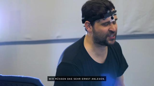 Making-of-Video zu den deutschen Sprachaufnahmen