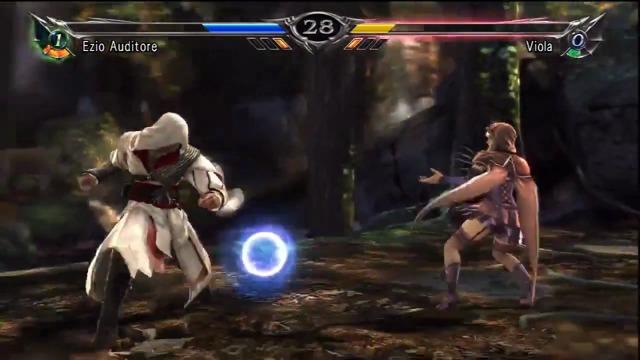 Ezio vs. Viola-Spielszenen