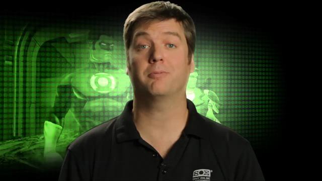 """Why green lantern?"""