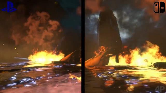 Grafikvergleich PS4 & Switch